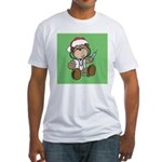 Nurse Christmas Fitted T-Shirt