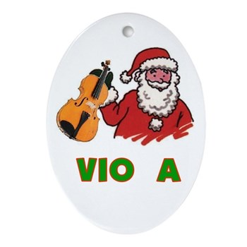 Violin Angel Ornament