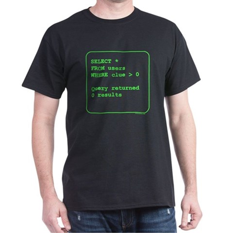 Clueless User T-Shirt