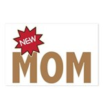 New Mom Mother First Time Postcards (Package of 8)
