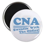 CNA Sweatin' With The Oldies Magnet