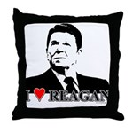 I Heart Reagan Throw Pillow
