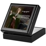 Sir Isaac Newton: Gravity Keepsake Box