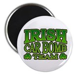 "Irish Car Bomb Team Shamrock 2.25"" Magnet (10 pack"