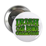 "Irish Car Bomb Champion Shamrock 2.25"" Button (100"
