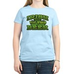 Irish You Were Beer Shamrock Women's Light T-Shirt