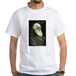 Charles Darwin: Science White T-Shirt