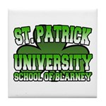 St. Patrick University School of Blarney Tile Coas