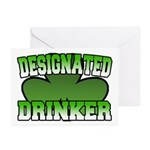 Designated Drinker Greeting Cards (Pk of 10)
