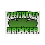 Designated Drinker Rectangle Magnet (10 pack)