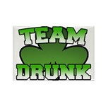 Team Drunk Rectangle Magnet (10 pack)