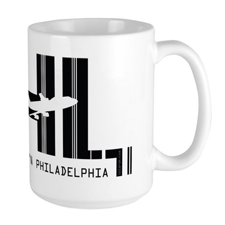 Philadelphia PHL Air Wear Large Mug