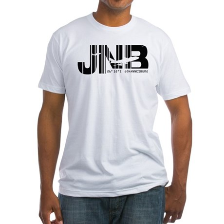 Johannesburg South Africa JNB Fitted T-Shirt