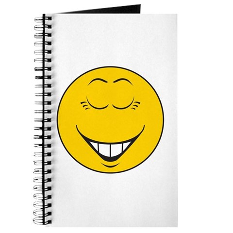 laughing smiley face. Laughing Smiley Face Journal