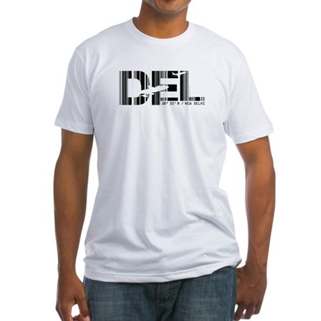 New Delhi India DEL Air Wear Fitted T-Shirt
