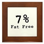 Fat Free Framed Tile