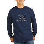 Fat Free Long Sleeve Dark T-Shirt