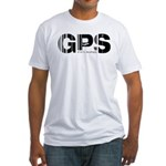 Galapagos Ecuador GPS Air Wear Fitted T-Shirt