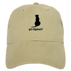 Got Ridgeback? Cap