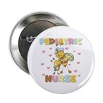 "Bee Pediatric Nurse 2.25"" Button (10 pack)"