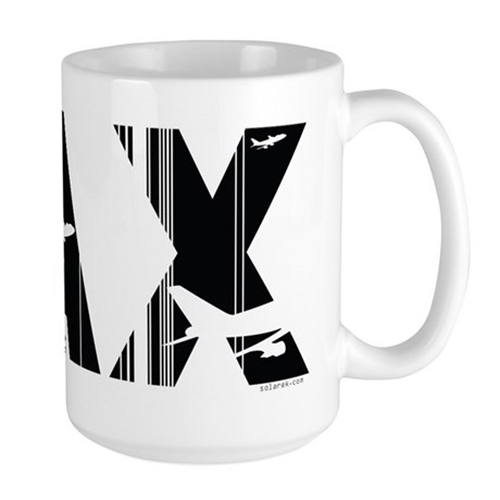 Los Angeles LAX Airport Code Large Mug