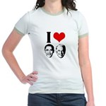 I Heart Obama Biden Jr. Ringer T-Shirt
