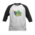 See-Saw Agility Dog Kids Baseball Jersey