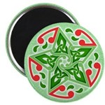 "Celtic Christmas Star 2.25"" Magnet (10 pack)"