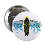 """Surf Angel: Tribe"" 2.25"" Button"