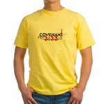 """Covenant: Curse of the Lord"" Yellow T-Shirt"
