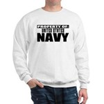 Property of US Navy Sweatshirt
