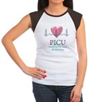 PICU Keeping the beat all day Women's Cap Sleeve T