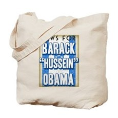 Jews For Barack Obama Tote Bag