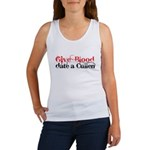 Give Blood Date a Cullen Women's Tank Top
