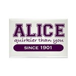 Alice, Quirkier Than You. Rectangle Magnet