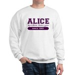Alice, Quirkier Than You. Sweatshirt
