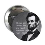 "Abraham Lincoln 2.25"" Button (10 pack)"