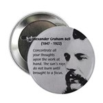 "Alexander Graham Bell 2.25"" Button (100 pack)"