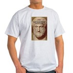 Greek Philosophers: Aristotle Ash Grey T-Shirt