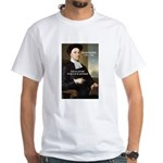 Philosopher: George Berkeley White T-Shirt