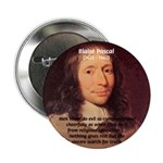 "Mathematician: Blaise Pascal 2.25"" Button (100 pac"