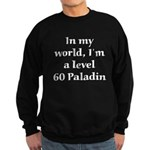 Level 60 Paladin Sweatshirt (dark)