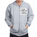Level 70 Cleric Zip Hoodie