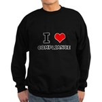 I (heart) Compliance Sweatshirt (dark)
