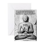 Buddhism Philosophy of Love Greeting Cards (Packag