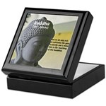 Eastern Philosophy: Buddha Keepsake Box