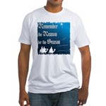 """Remember the Reason"" Fitted T-Shirt"