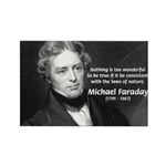 Michael Faraday Rectangle Magnet (10 pack)