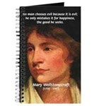 Feminist Mary Wollstonecraft Journal
