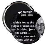 "President George Washington 2.25"" Magnet (10 pack)"